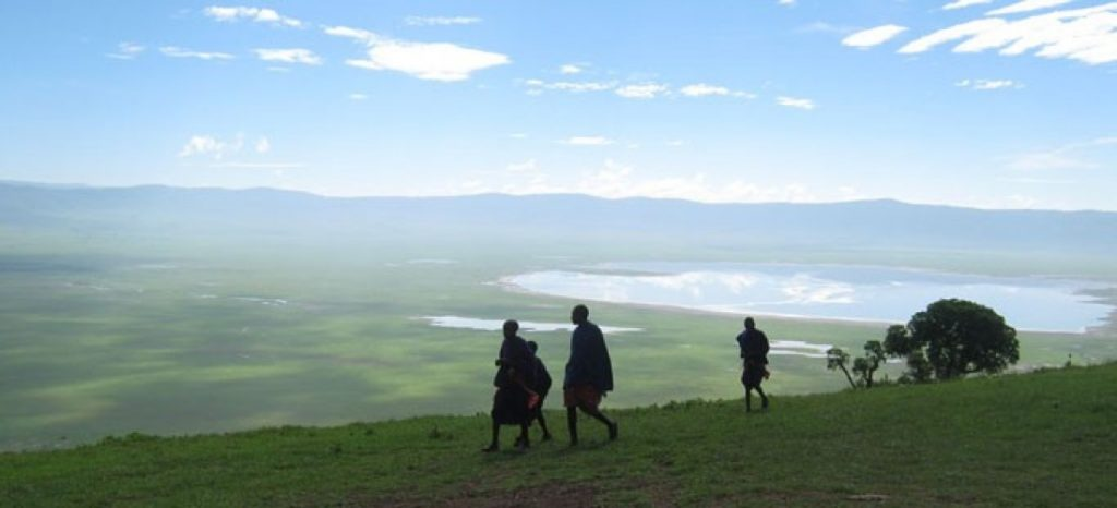 Ngorongoro highland hiking